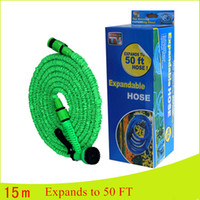 Wholesale Expandable Magic Hose Retractable Accessories Magic Household High Pressure Car Wash Garden Water Pipe Flexible Hoses With Package