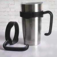 Wholesale DHL SEND oz Yeti Tumbler Rambler Holder Plastic Single Handle for Stainless Steel Yeti Cups
