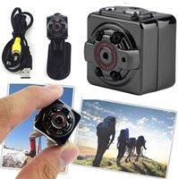 Wholesale SQ8 HD P P Mini digital video Camera DV Voice Video Recorder Infrared Night Vision Digital Small Cam Hidden Camcorder