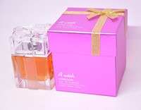 Wholesale No Spray Form Floral Woman Scent Gift Box Perfume Nice Quality