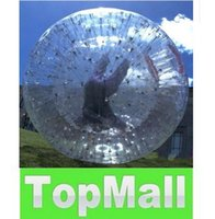 Cheap Zorb ball inflatable ball 2.5 or 3meter PVC or TPU outdoor sports toys Human hamster ball Free shipping LLFA6
