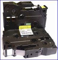 Wholesale Tze631 Tze Tze mm Tze Tz Tape Compatible Brother Ptouch Cartridge Label Maker Tape Tz631 Tz Tz Black on Yellow