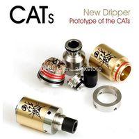 Cheap Cats clone mod rebuildable atomizer ecig RBA VS taifun gt gs tank RDA black helio e cig for raijin turtle ship magneto kylin AR EA mod DHL