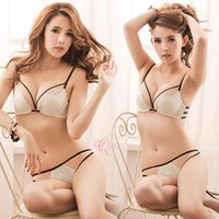 Wholesale 2016 New Women Lady Sexy Lace Underwear G string Panty Knickers Stylish Vogue sexy Erotic Lingerie Briefs Push Up Bra Set women