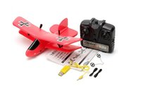 Wholesale Flybear FX G CH EPP Micro Indoor Parkflyers RC Biplane RTF