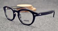 Wholesale Moscot Lemtosh Johnney Depp men women unisex Retro Vintage acetate spectacle optical prescription eyeglasses glasses frame