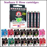Wholesale Starbuzz E Hose cartridges refillable Multi Flavor High Quality E Hose atomizer Various Flavours for Starbuzz ehose via DHL