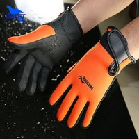 Wholesale Branded Adult mm Neoprene Scuba Diving Gloves Summer Swimming Hand Paddles Water Gloves For Spearfishing Sailing Fishing S013