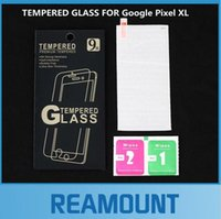arrival pixels - 50pcs New Arrival High Quality Ultra thin mm Tempered Glass Screen Protector for Google Pixel XL film Screen Protective Film with Package