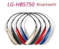 apple spec - HBS750 Bluetooth Headphone HBS Wireless Stereo Sport Headset Neckband Tone Spec Earphone For LG Samsung Iphone With Retails Package