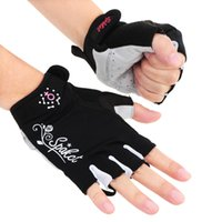 Wholesale Spakct Women s Multifunction Half Finger Short Finger Gloves Cycling Gloves Breathable Shockproof Hand Protect Equipment order lt no track