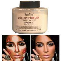 Wholesale Ben Nye Luxury Powder g New Natural Face Loose Powder Waterproof Nutritious Banana Brighten Long lasting Foundation