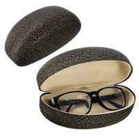 Wholesale 2016 New Arrive Eyeglasses Carrying Boxes Cases PU Hard Case Durable Box Clam Shell Protector For Glasses Sunglasses yeglasses