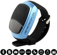 apple computer speaker - B90 Mini Bluetooth Speaker Smart Watch Speaker Wireless Subwoofers Speaker With Screen Support TF FM USB