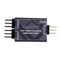 Wholesale FPV Channel Video Camera Switcher Module Switch Unit IN OUT For RC Model