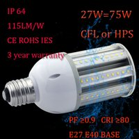 Wholesale Waterproof outside led street lamp IP64 gt lm w w to replace w Halogen lamp