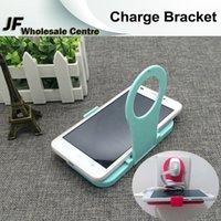 Wholesale Fashion Folding Phone Charging Bracket Travel Universal Charge Phone Stand Holder Portable Shockproof Stents Support iphone samsung