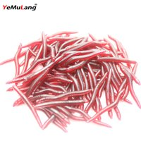 Wholesale Hot g cm Soft Lure Earth Worm Fishing Tackle Artificial Bait Carp Pesca Fishing Lures Fishing Shipping BB284 Z20