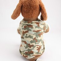 army halloween costumes - Fashion dog clothes costume army dog coat jacket rock blank winter spring dog pet clothing Yorkshire Chihuahua cat clothes