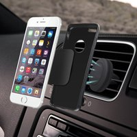 Wholesale Magnet Car Cell Mobile Phone Portable Holder Air Vent Mount Handfree Dashboard Magnetic Bracket For Cellphone iPhone Samsung