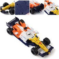 Wholesale Model Car SCF Alloy Static Die Cast Model F1 Racing Car Sound Light Collection Toy Cars Best Gift