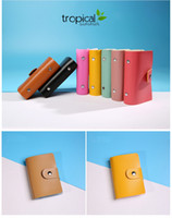 Wholesale New Men PU Leather ID Business Credit Card Holder Cards Pocket Wallet Case for women