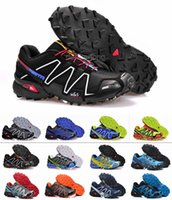 athletic shoes for men - 2016 New Style Speedcross Running Shoes For Men Comfortable Hiking Shoes Waterproof Athletic Outdoor Sport Sneakers Eur