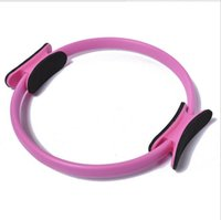 Wholesale New women yoga sport pilate Ring PILATES MAGIC circles Fitness Circle Yoga exercise slim yoga circles