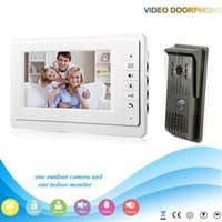 Wholesale XSL V70F F V1 XSL manufacturer Hot sale inch LCD multi apartment video door phone with video intercom system