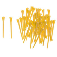 Wholesale Pack of Brand New Professional Tee System Golf Tees Yellow