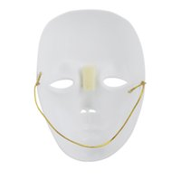 Wholesale Face Mask for Halloween Masquerade Cosplay Carnival Costume Party White