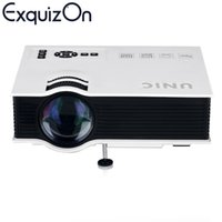 Wholesale Original Unic UC40 Projector Portable LED LCD Home Theater USB SD AV HDMI Input Multimedia Beamer Proyector