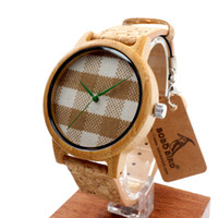 Wholesale Brand Designer Bamboo watch pastoralism pastoral dial face wooden watches for women man accept customization OEM