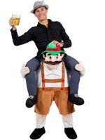 beer costumes - Carry Me Bavarian Beer Guy Ride On Oktoberfest Mascot New Fancy Dress Costume