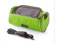 beam table - 2016 explosion bike bag large screen mobile phone touch screen tube bag mountain bike saddle package bike front beam package inches