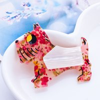 american dog collar - New Brooch Unique Dog Brooches Pins Animals Brooches Acrylic Badges Collar Clip Pins Up Women Suit Accessories Souvenir Broche Epaulette