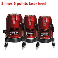 Wholesale DHL Free ship lines points degree self leveling laser level Cross line laser Horizontal and Vertical laser line can be used outdoor
