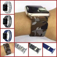 air sea - New Sea And Air Colors Milanese Loop Strap Link Bracelet Stainless Steel Band For Apple Watch mm mm Watchband VS DZ09 U8