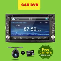 auto headrest dvd - Auto Monitor Universal Car detector Radio Double din Car DVD Player GPS USB In dash Car PC Stereo Head Unit Video camer For VW