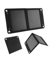 Wholesale 7 W Foldable Solar Panel Portable Solar Charger for Mobile Phones Iphone and Many Other V Usb charged Devices