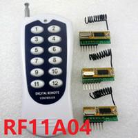 al por mayor retardo cero-Transceptor inalámbrico 12 canales Codec Módulo de control remoto RF 3-5V Delay Receiver para Arduino UNO MEGA2560 DUE ZERO
