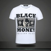 Wholesale Brand New PP Fashion Black Mony Men s Popular T Shirts Tees
