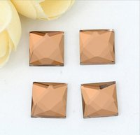 Wholesale color Square flat rhinestone Crystal jewelry findings garment accessory diy supplies mm mm mm