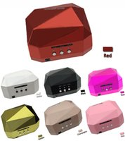 assured lamps - 2016 Hot selling Saving power and Quality Assured w diamond uv led nail lamp uv nail dryer