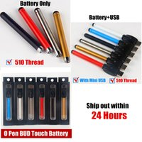 auto batteries - o pen battery Auto vaporizer pen cartridges O Pen Bud Touch Vape Buttonless Battery with USB Charger for cbd oil cartridge