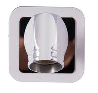 Wholesale Modern home decoration rustic blue sunflower wall lamp bathroom mirror light bedroom light aisle lights