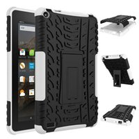 amazon bumper - For Amazon Fire TPU Bumper PC Dazzle Hybrid Protective Slideproof Crashproof Shockproof Holder Case