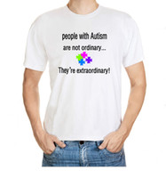 autism t shirt - People With Autism Is Not A General Pattern Of The Special Needs Of Men S Extraordinary Cotton T Shirt