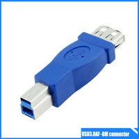 adapter printers - High Speed USB Extender Coupler Type A Female to B Male Adapter Cable Connector for printer hub and computer hard drive