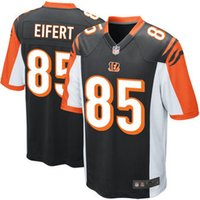 authentic bengals jerseys - Youth Bengals Football jerseys Cincinatti Dalton Green Eifert Black Orange Kids authentic rugby shirt Size S XL